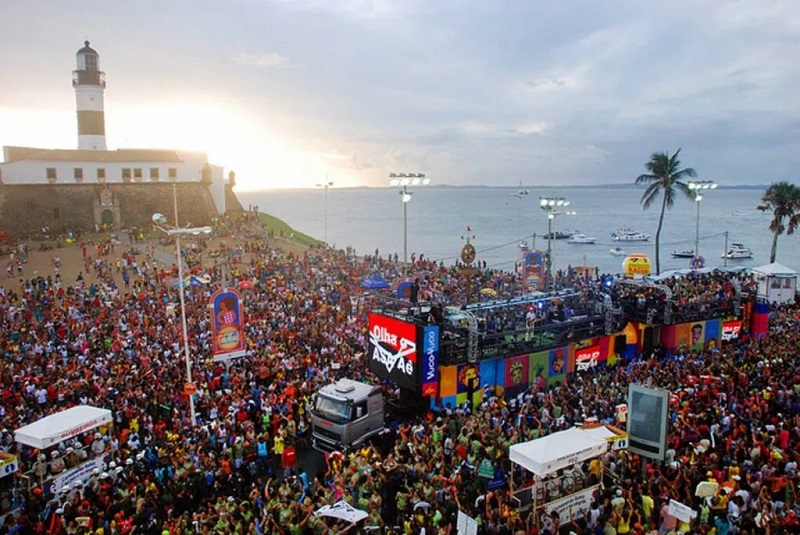 Bloco de Carnaval em Salvador
