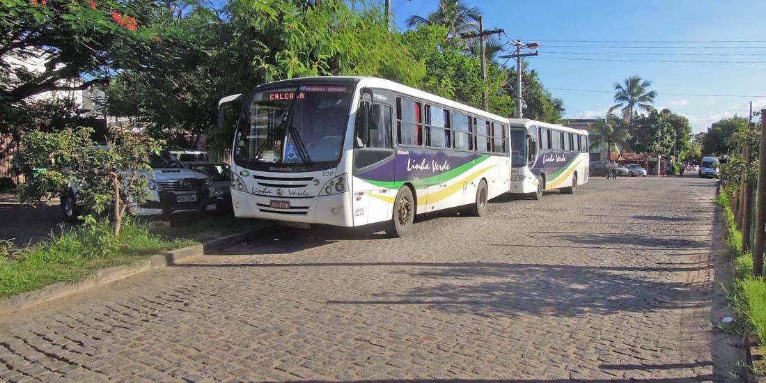 Linha Verde - Ônibus para Praia do Forte