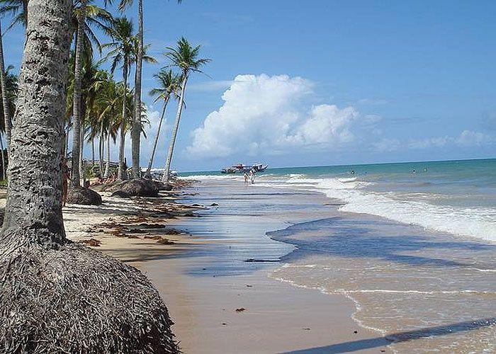 Praia de Coqueiros em Trancoso